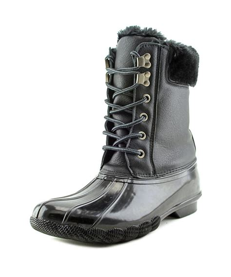 steve madden snow boots steve madden tstorm toe synthetic winter boot in