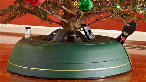 home heritage metal rotating tree stand with adaptors tree genie tree stand dudeiwantthat