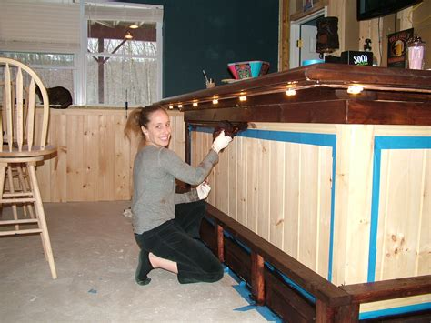 how to build basement bar plans diy homelk com bar build 034 the o shea family weblog