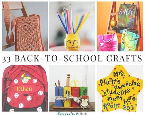 crafts school 33 back to school crafts favecrafts