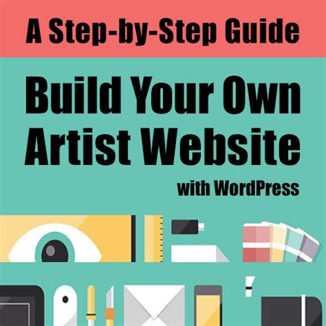 design your own home website build your own artist website with wordpress 60 day