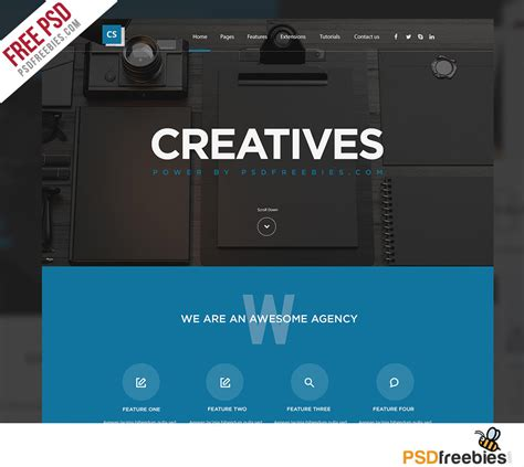 free responsive website template for developers
