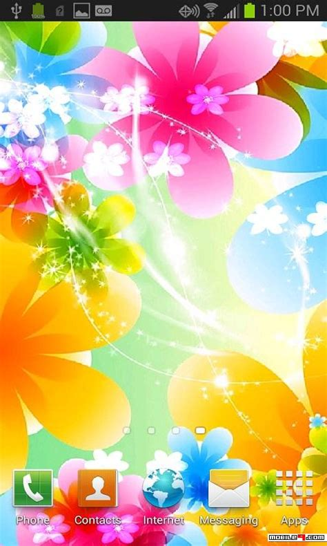 Android Flower Live Wallpaper Mobile9 by Flowers Follow Your Finger Live Wallpaper Android