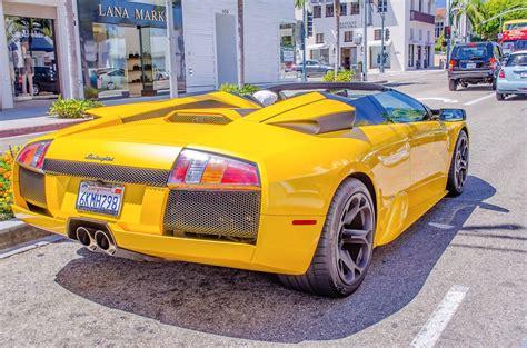 Beverly Lamborghini Lamborghini Supercar In Beverly Jigsaw Puzzle In
