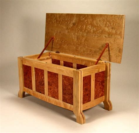 bed chest fine furniture designed and hand crafted by jerry work in