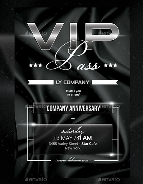 15 Vip Invitation Designs Templates Psd Ai Free Premium Templates Create Vip Passes Templates
