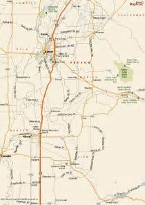 silver falls oregon map silver falls state park map