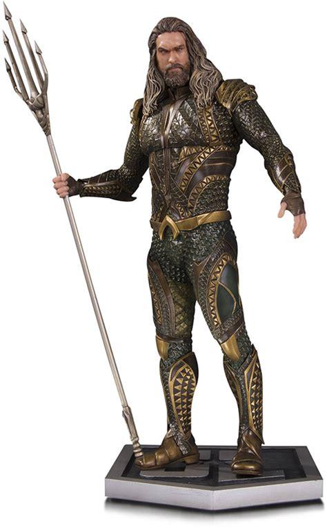 justice league film order aquaman justice league movie statue figure at cmdstore com