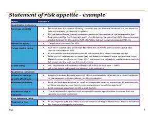 risk statement template icaap ibank