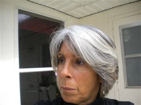 how to update gray hair with color for women over 70 update on going grey and loving it