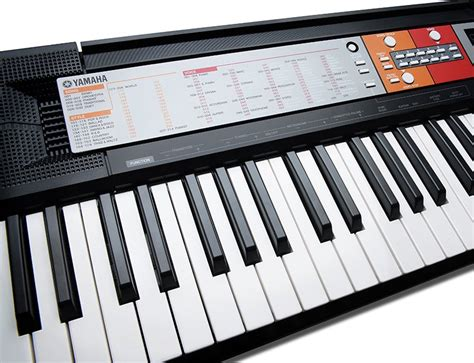 Yamaha Keyboard Tunggal Psr F50 yamaha psr f50 portable keyboard black co uk musical instruments