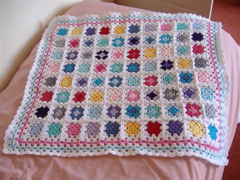 Squares Baby Blanket by Squares Cuteasabutton82