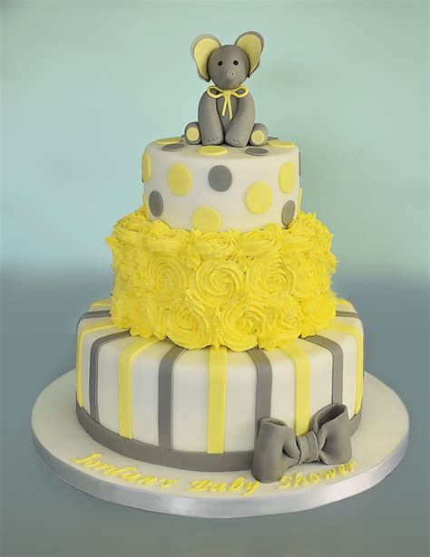 Make A Cake For Baby Shower by Three Tier Baby Shower Cake Step By Step Tutorial Caradise