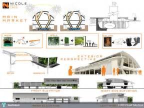 Architectural Home Designs green public market pg 1 design n c a l l d e l a c r
