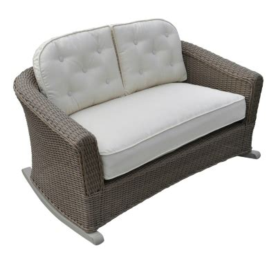 rocker loveseat crate and barrel summerlin rocking loveseat copy cat chic