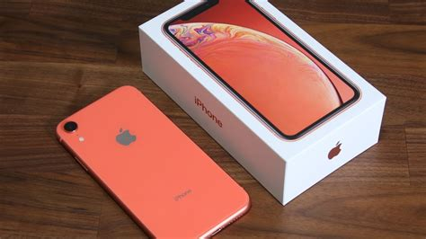 iphone xr unboxing  time setup  review coral