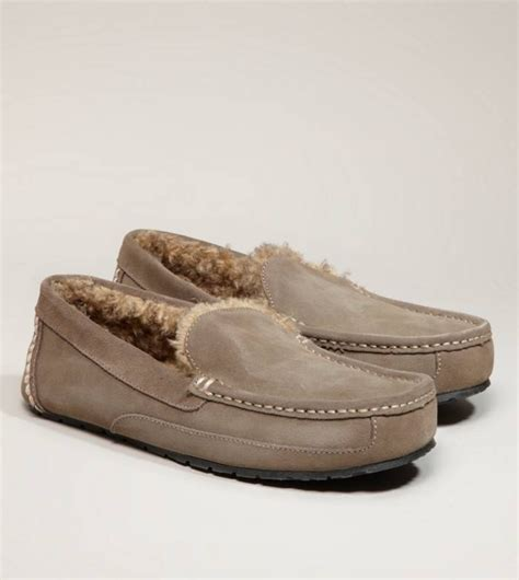 american eagle slippers mens american eagle s suede moccasin in grey 39 50 bday