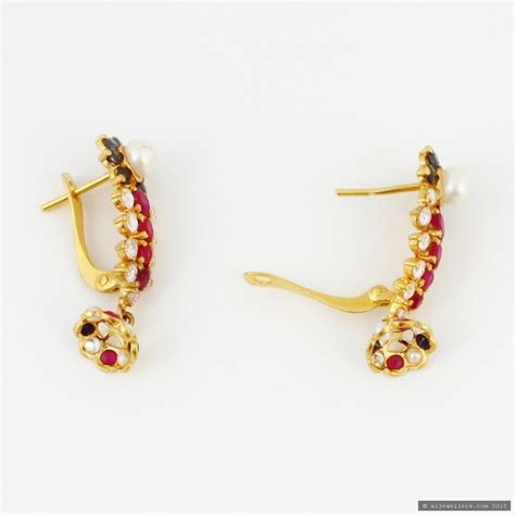 Gold X Earrings 22ct indian gold earrings 163 480 17 earrings indian