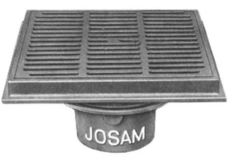 js37800 josam 37800 shallow sump 12 heavy duty top by