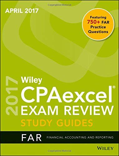 teeline cpa review 2018 financial accounting and reporting books wiley cpaexcel review april 2017 study guide