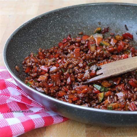 cucinare farro perlato farro perlato con verdure inventaricette in cucina con