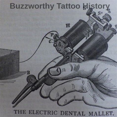 tattoo machine invention 8 best tattoo machine history invention images on