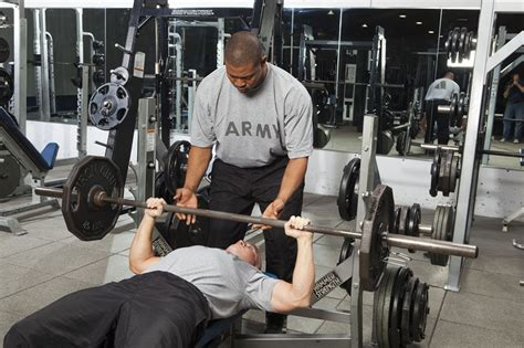 how to bench press a person fitness malaysia weight room ethics