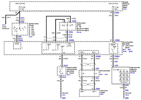 fuse box diagram for 2005 ford freestar fuse free engine