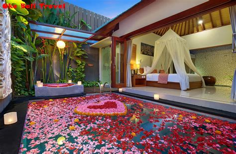 paket honeymoon bali  hari private villa romantis oke