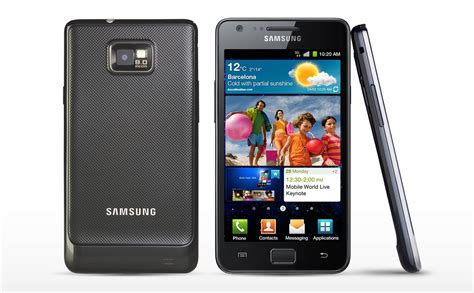 Samsung Galaxy Ii samsung galaxy s ii a 359 da media world tutto android