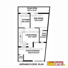plans for a 25 by 25 foot two story garage house plan for 30 feet by 30 feet plot plot size 100 square yards live work pinterest