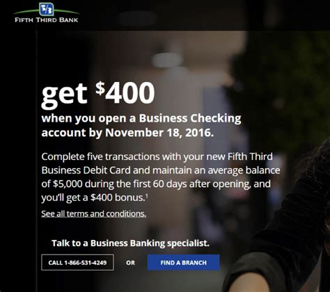 Fifth Third Bank Letter Of Credit expired fifth third 400 business checking promotion no