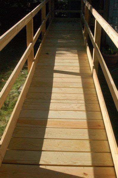 national ramp wooden ramp installation  ideas