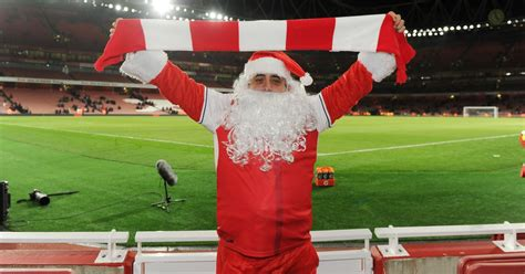 arsenal s christmas fixture date with liverpool revealed