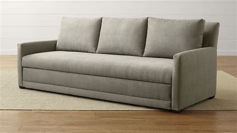 reston sleeper sofa crate and barrel