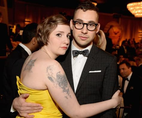 lena dunham married lena dunham discovers scarlett johansson once dated her