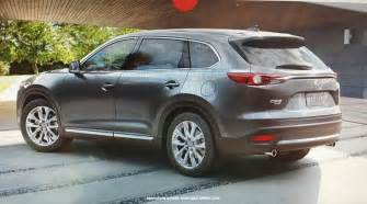Madza Cx9 New 2016 Mazda Cx 9 Suv This Is It