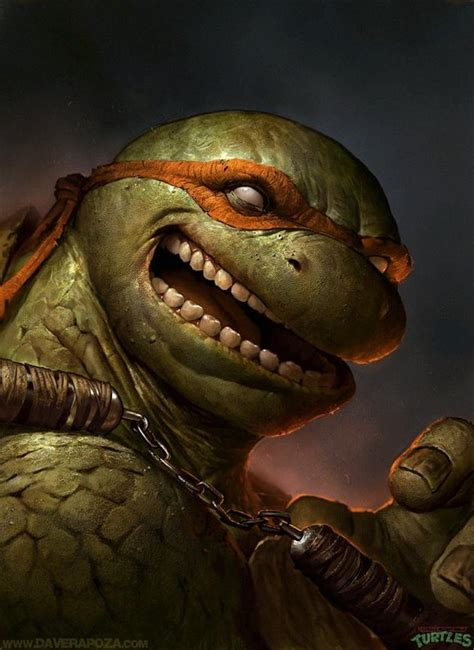 Mutant Turtles by Realistic Mutant Turtles Portraits By Dave