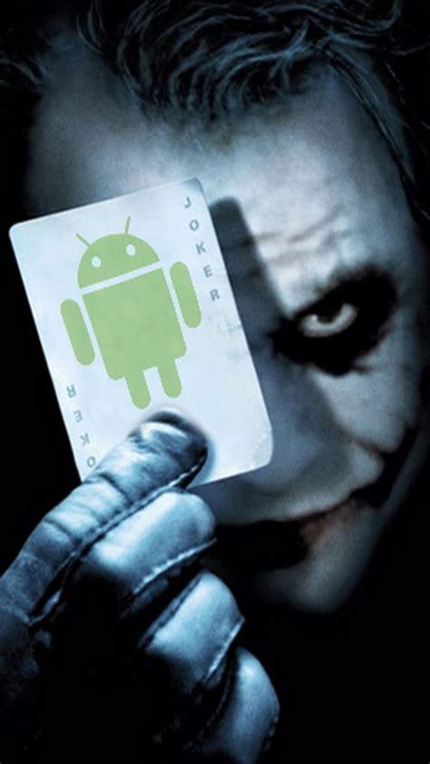 android joker card smartphone wallpapers hd getphotos