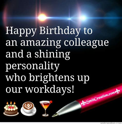 Happy Birthday Wishes To Colleague Birthday Wishes For Colleague Pictures And Graphics