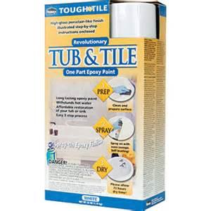 homax 720771 tough as tile one part epoxy tub tile spray