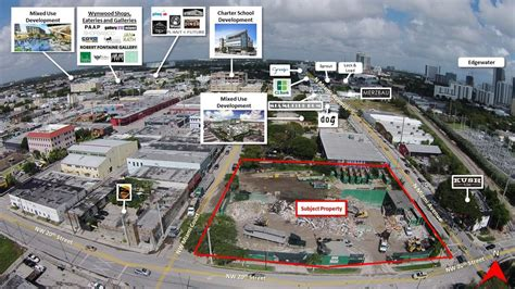 la times printing facility arts district real estate former southern waste systems facility in miami s wynwood