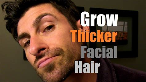 how do uou grow a young gentleman hair cut how to grow thicker facial hair can you stimulate facial