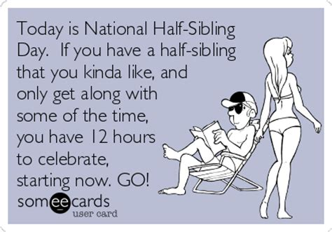 National Sibling Day Meme - someecards siblings day pictures inspirational pictures