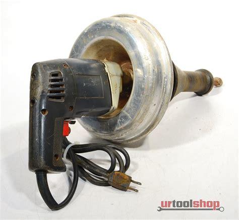 Ridgid Kollmann Hand Held Electric Drain Cleaner Sewer Snake 5881 868