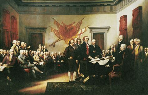 Ball State Help Desk John Trumbull S Quot Declaration Of Independence July 4 1776