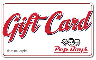 Advance Auto Parts Gift Card Check Balance - pep boys egift card