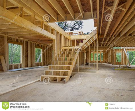 new house interior construction stock photo image 57533914