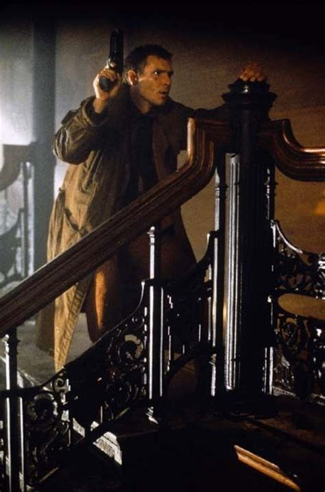 blade runner harrison ford cyberpunk movie wall print 56 best images about blade runner blaster on pinterest