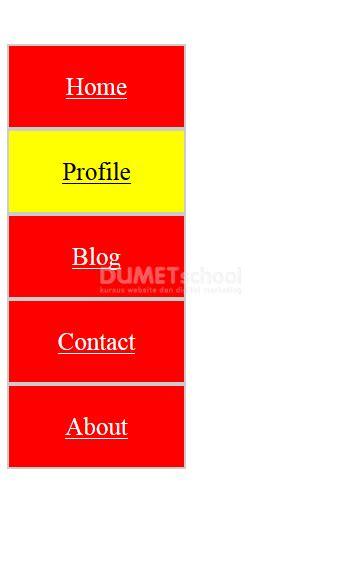 cara membuat header html dengan css cara membuat menu vertikal dengan html css kursus web design